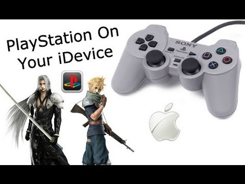 PlayStation Games On iPhone 4S, 4, 3GS, iPod Touch 4, & iPad 3, 2