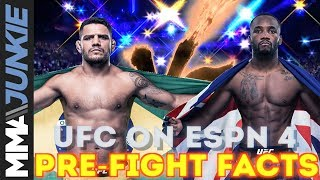 UFC on ESPN 4: Pre-Fight Facts