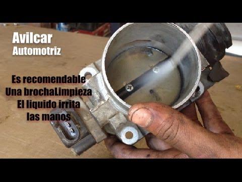 Como limpiar cuerpo de aceleracion how to clean the for Como lavar el motor de un carro