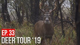 CALLING BUCKS with PLASTIC WRAP!!?? - Hunting Deer in the Rain