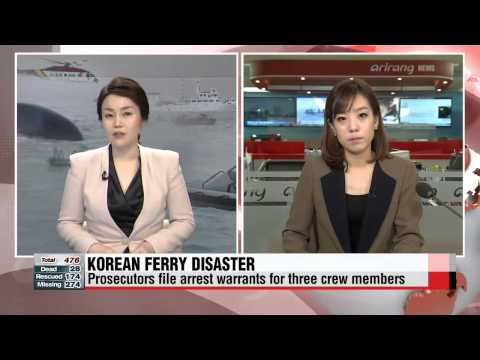 Live updates on the sunken ferry disaster in Korea