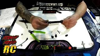 RC Rock Crawler GMADE R1 Kit Build Part 5 Assembling The Driveshafts