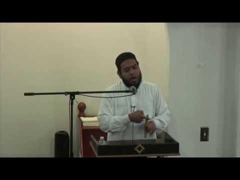 Sheikh Zaid Khan - Jummah on 2/6/15