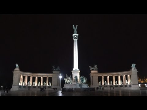 Heroes Square - Heldenplatz - Hősök tere Budapest