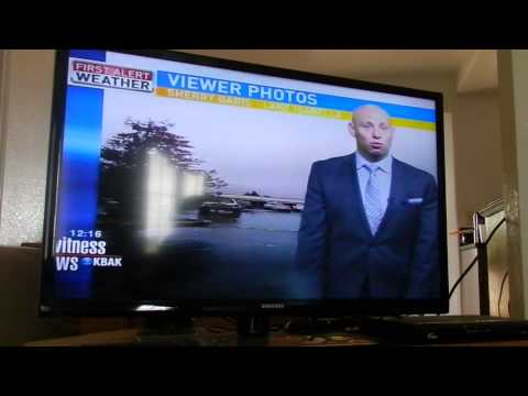 I Was On The News!