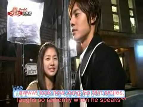 Making Of Kiss Scenes Ng's And Tender Moments *playful Kiss* [heart Beat] video