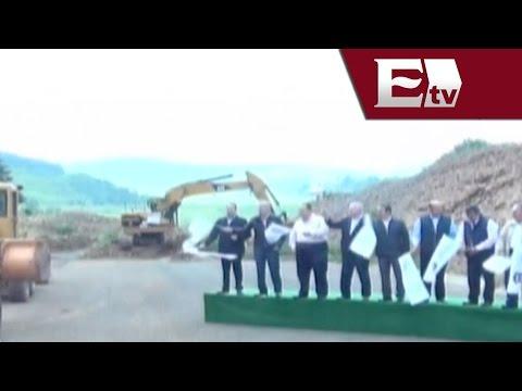 Dan banderazo a construcción de la autopista Atizapán - Atlacomulco  / Dinero