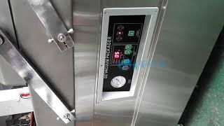 600 double chamber vacuum packaging machine china supplier whatsapp +8615816213443