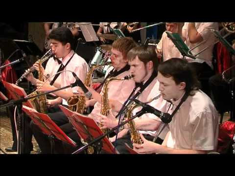 Jazz-orchestra Nstu - The Pink Panther Theme.wmv video
