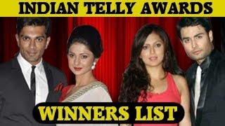 Download 12th Indian Telly Awards 2013 WINNERS & FULL SHOW 25th May 2013 3Gp Mp4