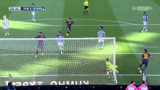 Barcelona vs Real Sociedad Extended Highlights | 09-05-2015