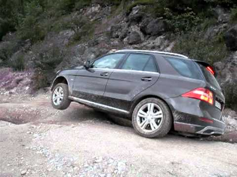 Mercedes-Benz ML 2012 (W166).   