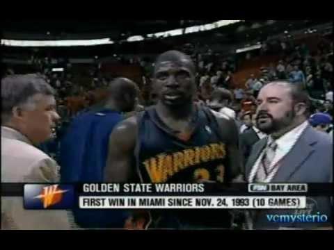 Jason Richardson career-high 44pts vs. Heat (03.10.2006) - 3PT:6/7 + Fastbreak 360 Dunk!