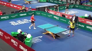 2018 ITTF Team World Cup - Fan Zhendong v Kristian Karlsson