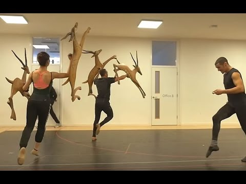 THE LION KING: In the Rehearsal Room