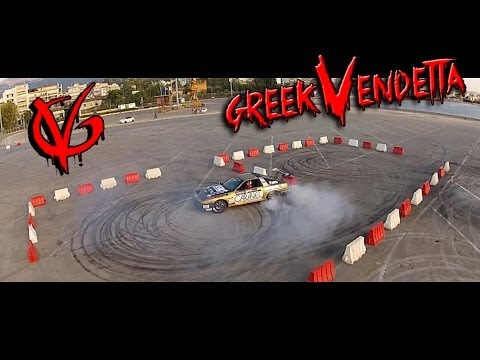 Greek Vendetta: City Drift Gymkhana Race - KTM vs SUPRA vs EVO 9 vs ENERGY KART vs KORRES PROJECT 4