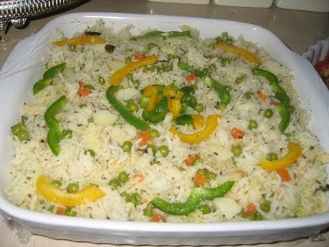 How to Make Vegetable Rice - A Quick and Easy Recipe!