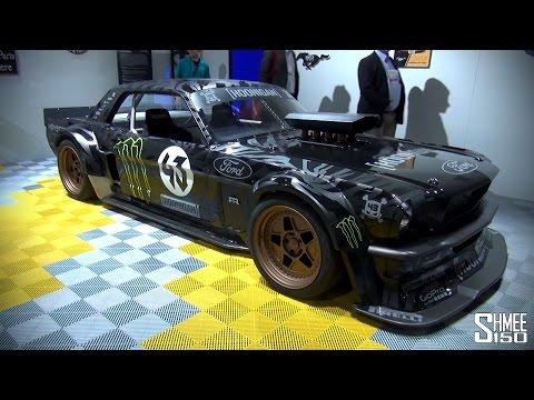 Ken Block's '65 Ford Mustang Hoonicorn Rtr For Gymkhana Seven video