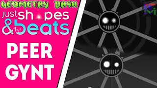 Peer Gynt by cYsmix | Geometry Dash vs Just Shapes and Beats Comparison