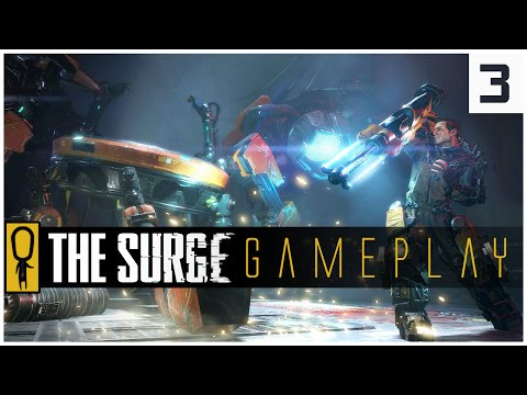 THE SURGE GAMEPLAY PC - PART 3 - THE SURGE'S FIRST BOSS P.A.X. - Let's Play The Surge Gameplay