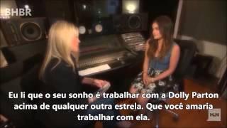 Lucy Hale Talks Her Country Music Debut [LEGENDADO]