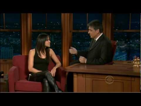 Michelle Rodriguez on Craig Ferguson Show 12.18.9