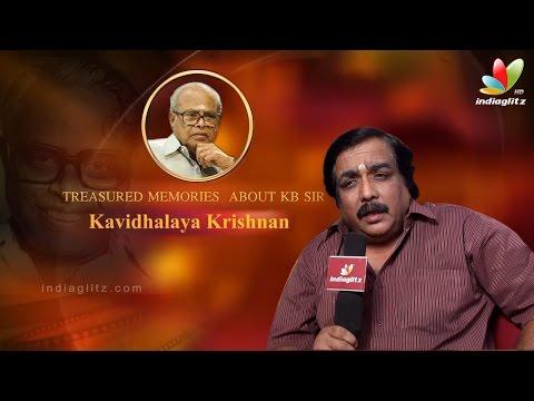 Memories Of K Balachander