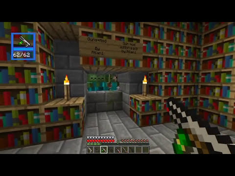 Guns+ Minecraft  Plugin Tutorial / Review