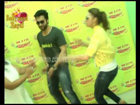 Lauren & Jackky Bhagnani at Radio Mirchi for 'Welcome To Karachi' Promotions