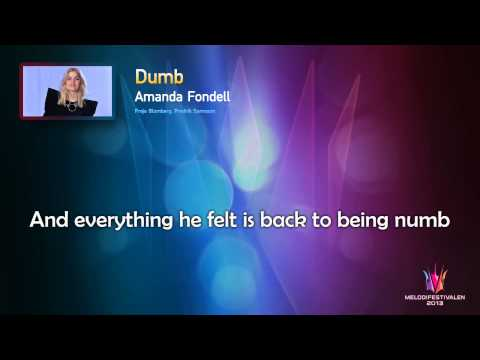 Amanda Fondell - Dumb