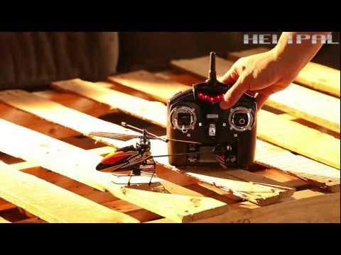 HeliPal.com - WL V911 Micro Helicopter Test Flight