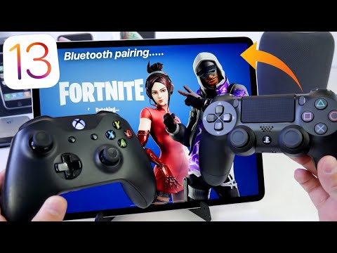 iOS 13 - How to Pair Xbox & PS4 Controller To iPhone & iPad To Play iOS Games