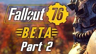 Fallout 76: XBox BETA - Part 2 - The Secret Vault