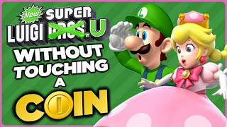 Is it possible to beat New Super Luigi U Deluxe without touching a single coin?