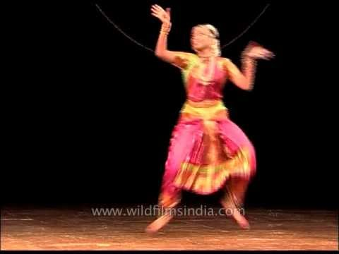 One of the most popular Indian dances : Bharatnatyam