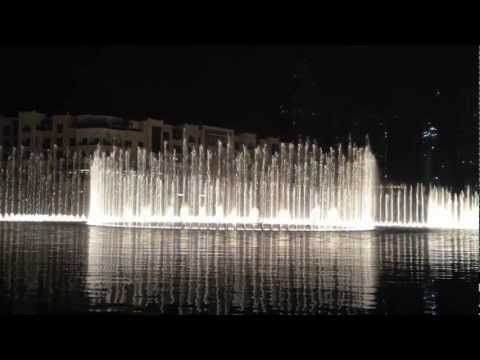 Dubai Fountain 2011 Full Hd (arabic Song) video