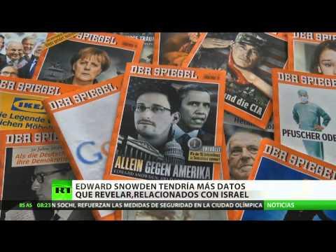 """Greenwald: """"Snowden tiene más secretos que revelar relacionados con Israel"""""""