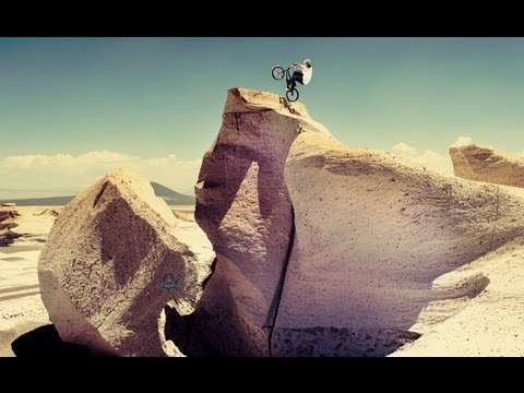 BMX Competition on the Moon? - Red Bull Ramparanoia 2012