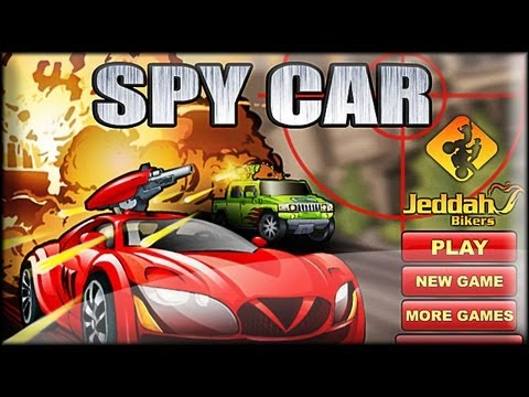 Spy Car - Flash Game Preview / Gameplay