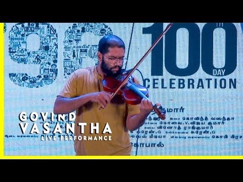 "Download Lagu  Govind Vasantha Performs Kaathalae Kaathalae Song LIVE | Mind Blowing Instrumental from 96 Movie"" Mp3 Free"