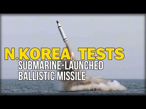 N.KOREA TESTS SUBMARINE-LAUNCHED BALLISTIC MISSILE