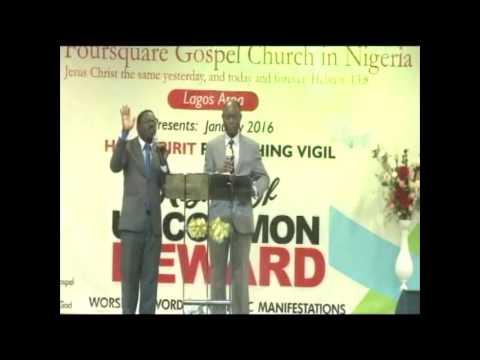 Rev Felix Meduoye Night of Uncommon Reward