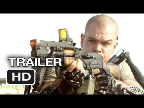Elysium Official Trailer #1 (2013) - Matt Damon, Jodie Foster Sci-Fi Movie HD