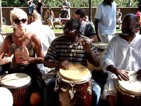 Butch Jackson&Drum Circle @ Malcom X Park 06/13/09