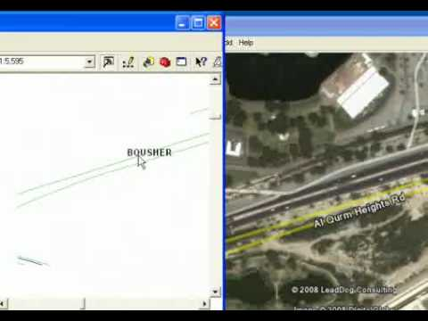ArcMap & Google Earth Integration