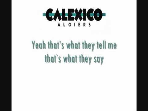 Calexico - Fortune Teller (lyrics video)