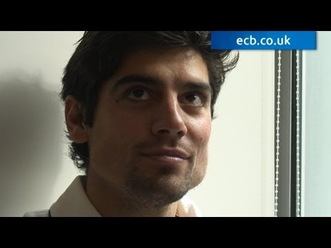 Learn about a different side to Alastair Cook, his life on the farm and his thoughts on becoming a dad for the first time...All whilst he was having his make...