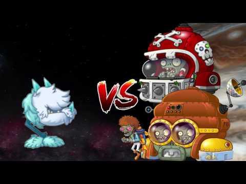 Plants vs. Zombies 2 Every Plant Power Up vs Disco Tron 3000 and Mecha Football PART 5