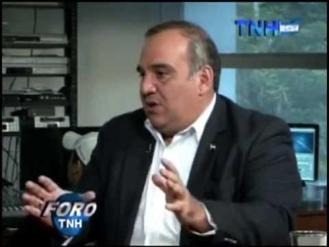 Foro Canal 8 TNH 17 de Abril de 2013, invitado Ministro Jacobo Regalado