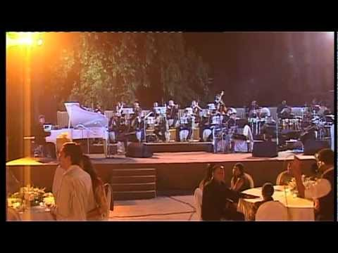 BHAVESH SHAH ON GRAND PIANO WITH SYMPHONY BAND   SHOLAY THEME...